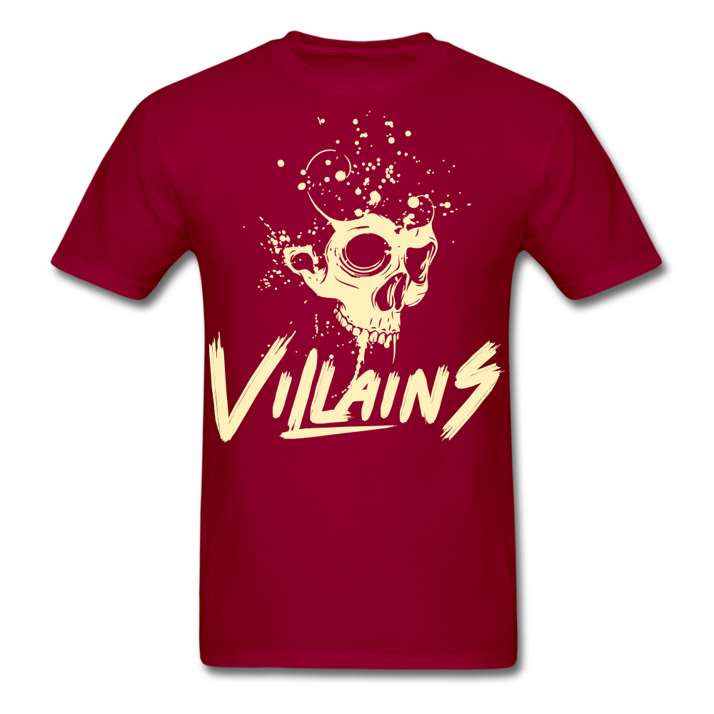 Villains Death T-Shirt - dark red