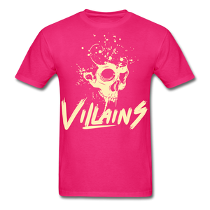 Villains Death T-Shirt - fuchsia