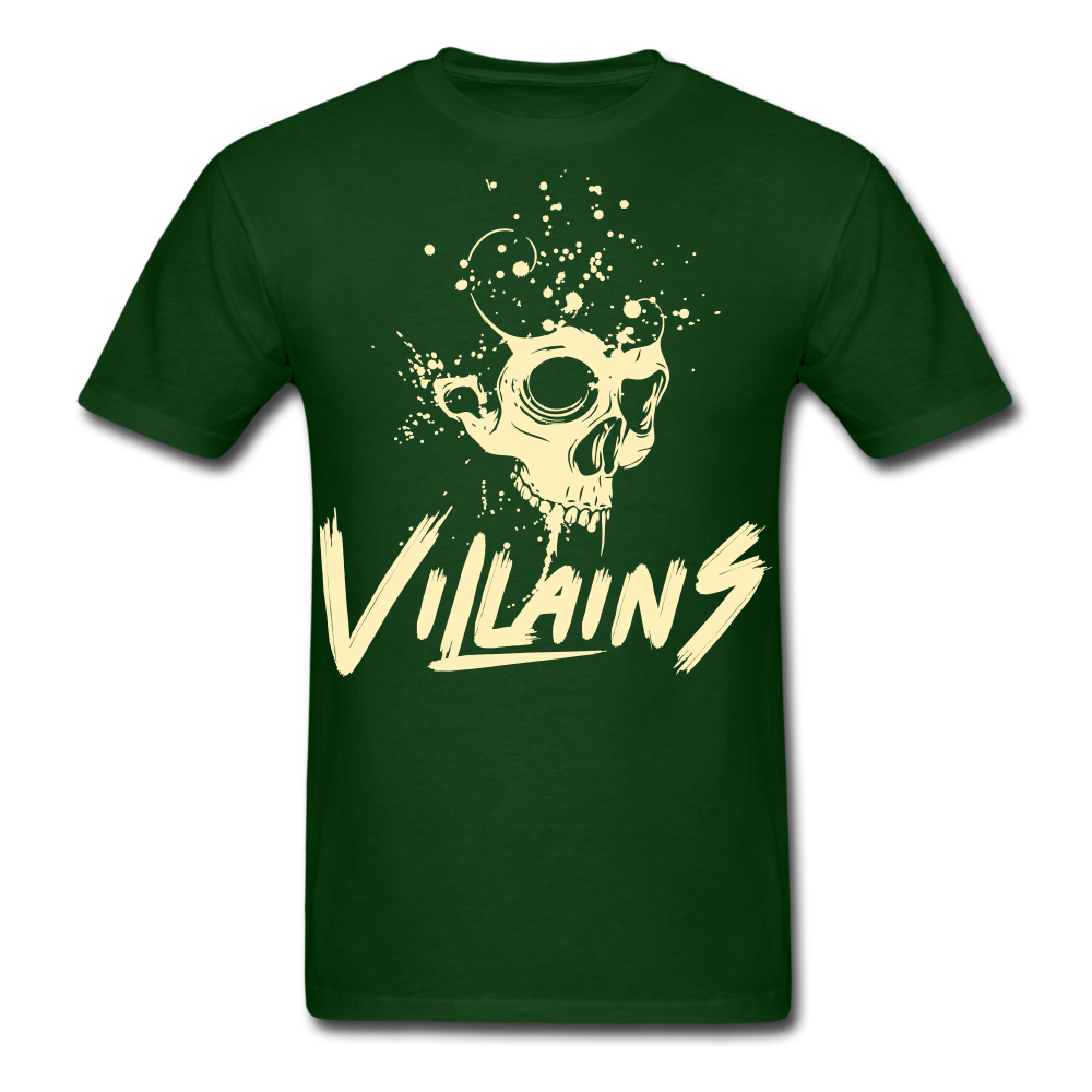 Villains Death T-Shirt - forest green