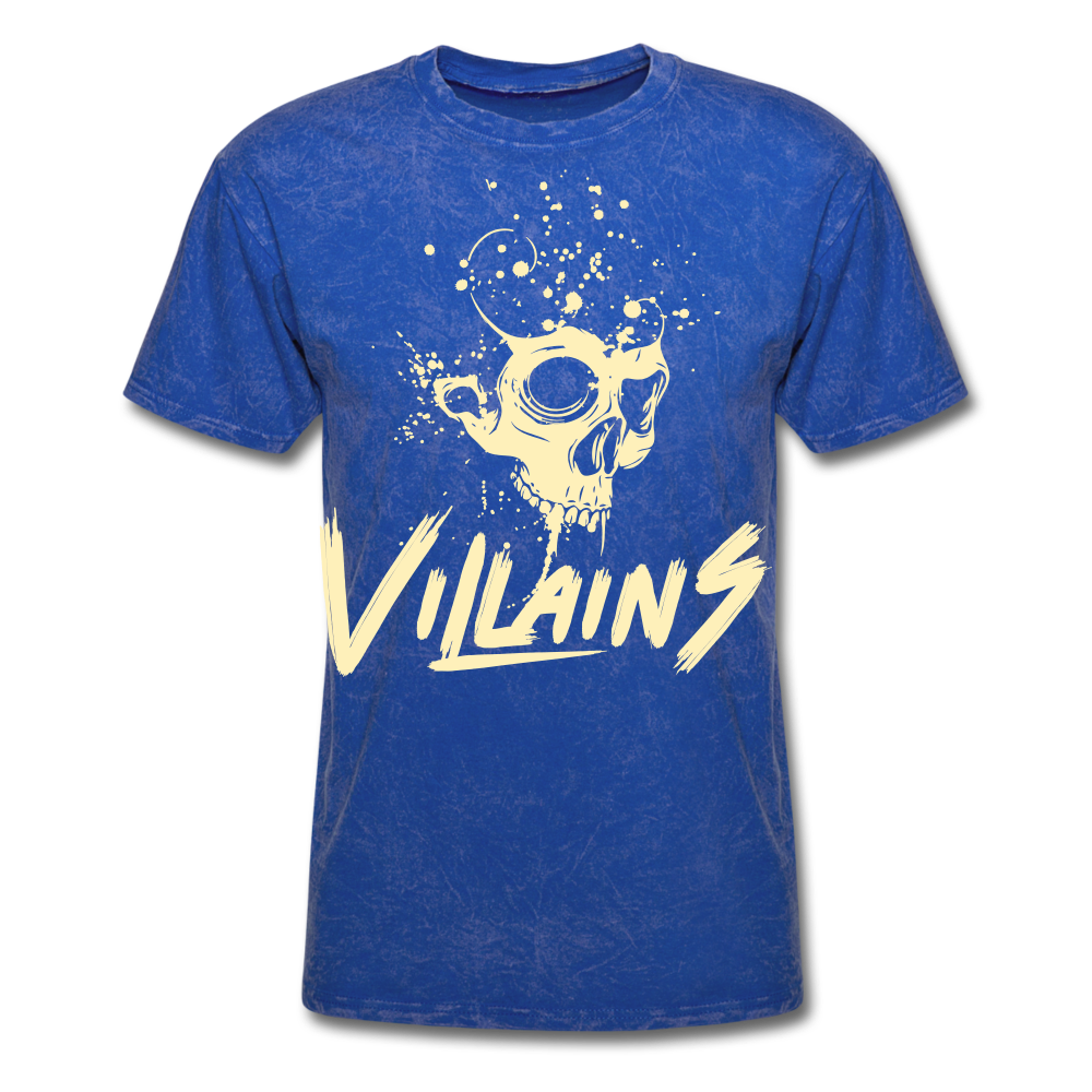 Villains Death T-Shirt - mineral royal