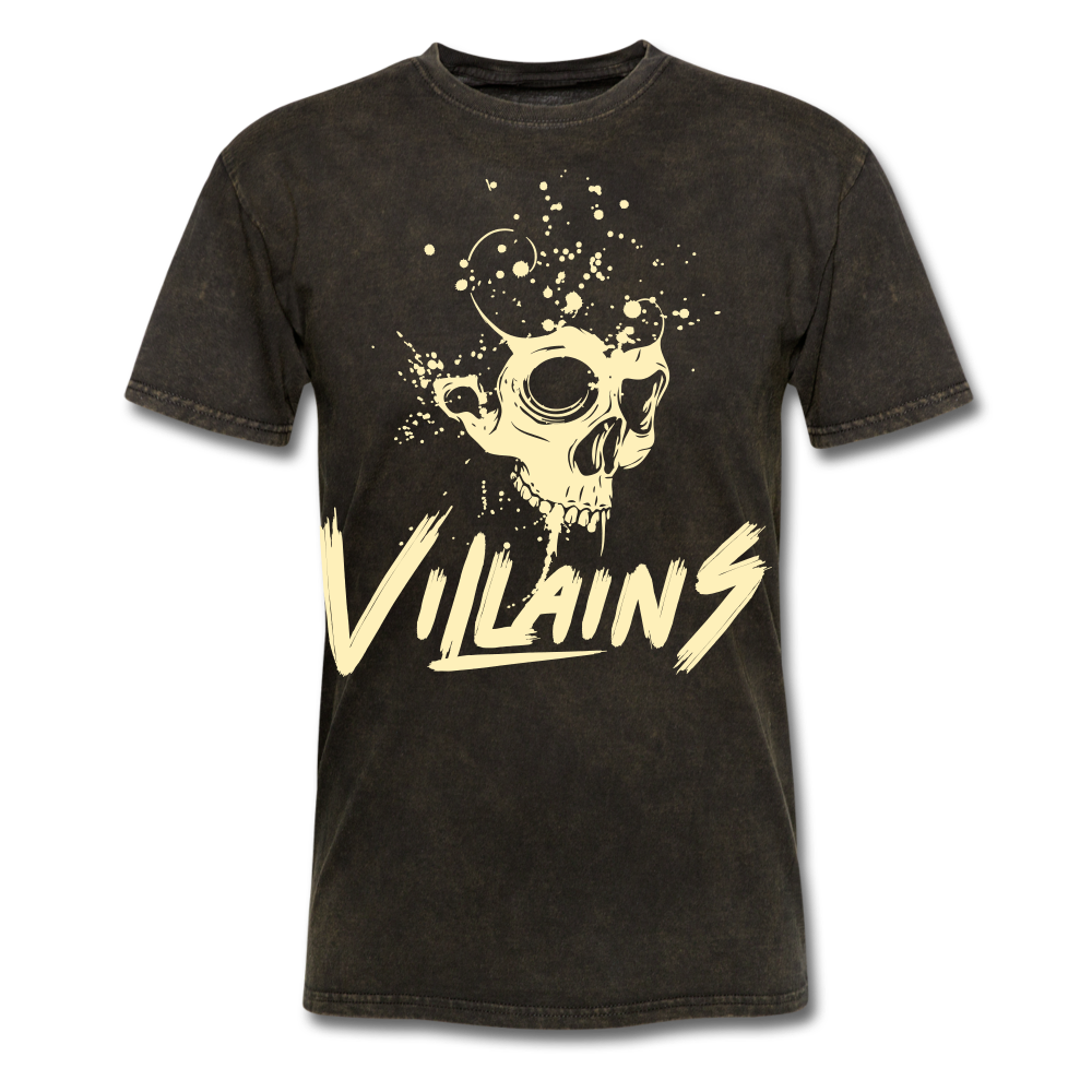 Villains Death T-Shirt - mineral black