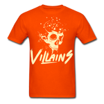 Villains Death T-Shirt - orange