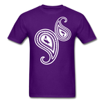 Paisley T-Shirt - purple