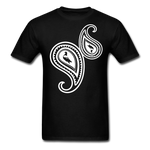 Paisley T-Shirt - black