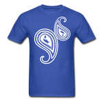 Paisley T-Shirt - royal blue