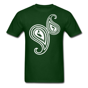 Paisley T-Shirt - forest green