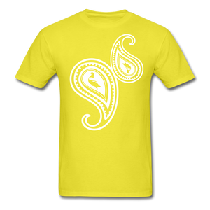 Paisley T-Shirt - yellow