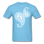 Paisley T-Shirt - aquatic blue
