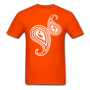 Paisley T-Shirt - orange