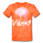 Villain Brain of opp Tie Dye T-Shirt - spider orange