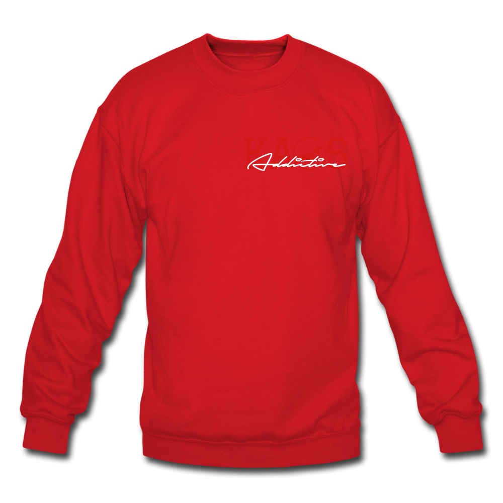 Anime 1 Crewneck Sweatshirt - red