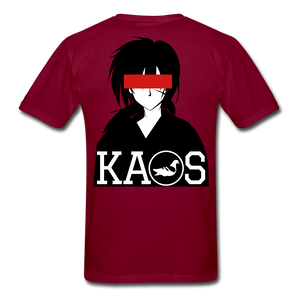 Anime 1 T-Shirt - burgundy