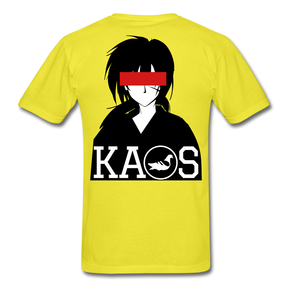 Anime 1 T-Shirt - yellow