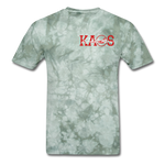 Anime 1 T-Shirt - military green tie dye