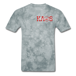 Anime 1 T-Shirt - grey tie dye
