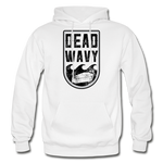 Dead Wavy Classic Adult Hoodie - white