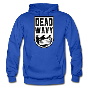 Dead Wavy Classic Adult Hoodie - royal blue