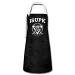 ISUPK Team Apron - black/white