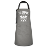 ISUPK Team Apron - gray/black