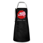 Lusty Apron - black/white