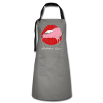 Lusty Apron - gray/black