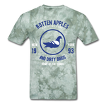 Rotten Apples and Dirty Birds Classic T-Shirt - military green tie dye