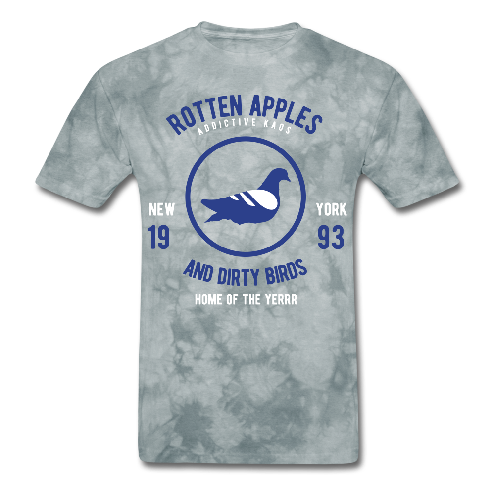 Rotten Apples and Dirty Birds Classic T-Shirt - grey tie dye