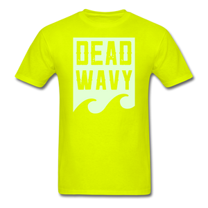 Dead Wavy (Glow) Classic T-Shirt - safety green