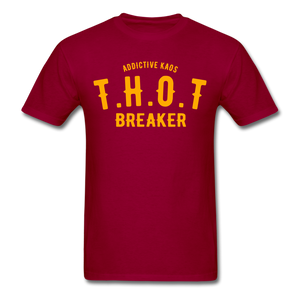 THOT Breaker Academy Classic T-Shirt - dark red