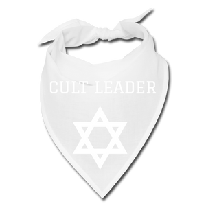 Cult Leader Bandana - white