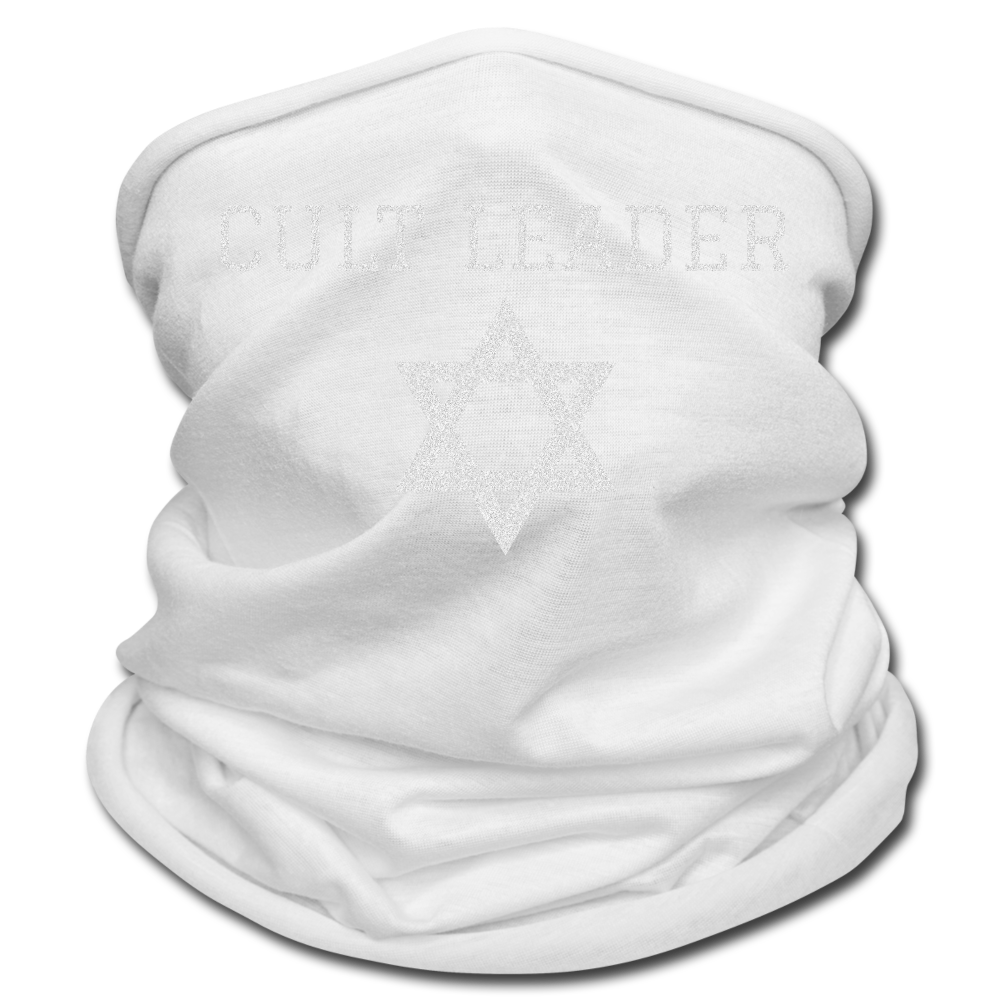 Cult Leader Multifunctional Scarf - white