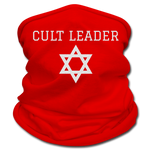 Cult Leader Multifunctional Scarf - red