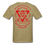 Warrior Priest (Capt. Special ) Short-Sleeve T-Shirt - khaki