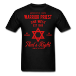 Warrior Priest (Capt. Special ) Short-Sleeve T-Shirt - black
