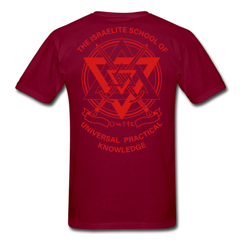 Warrior Priest (Capt. Special ) Short-Sleeve T-Shirt - burgundy