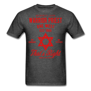 Warrior Priest (Capt. Special ) Short-Sleeve T-Shirt - heather black
