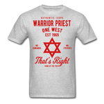 Warrior Priest (Capt. Special ) Short-Sleeve T-Shirt - heather gray