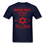 Warrior Priest (Capt. Special ) Short-Sleeve T-Shirt - navy