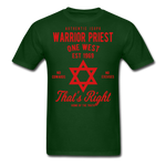 Warrior Priest (Capt. Special ) Short-Sleeve T-Shirt - forest green