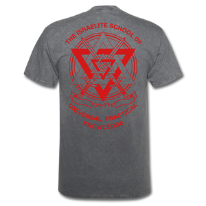 Warrior Priest (Capt. Special ) Short-Sleeve T-Shirt - mineral charcoal gray
