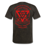 Warrior Priest (Capt. Special ) Short-Sleeve T-Shirt - mineral black