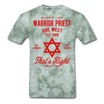 Warrior Priest (Capt. Special ) Short-Sleeve T-Shirt - military green tie dye
