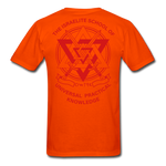 Warrior Priest (Capt. Special ) Short-Sleeve T-Shirt - orange