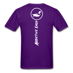 Don't Care  T-Shirt - purple