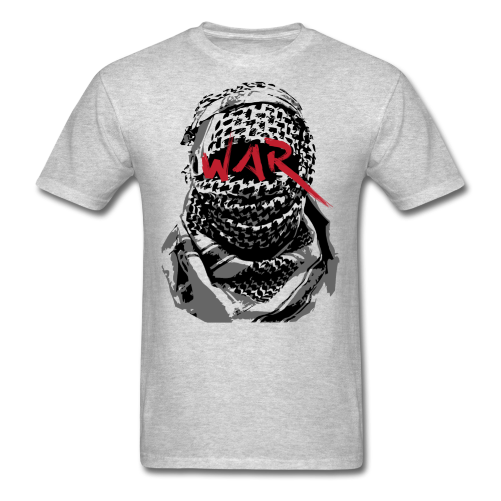 W.A.R T-Shirt - heather gray