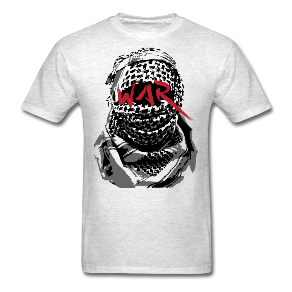 W.A.R T-Shirt - light heather gray