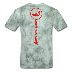 W.A.R T-Shirt - military green tie dye