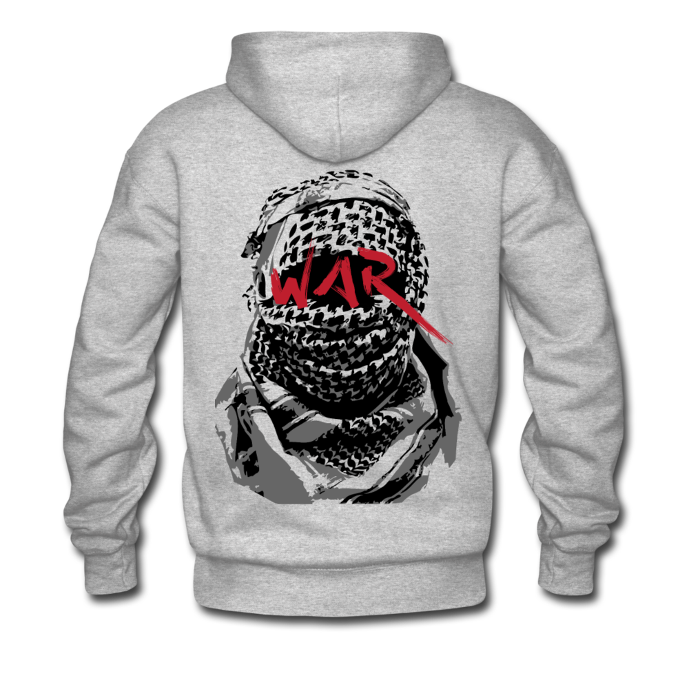 W.A.R Hoodie - heather gray
