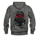 W.A.R Hoodie - charcoal gray