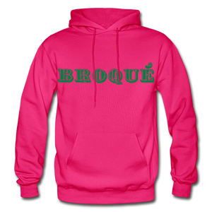 Broque Heavy Blend Adult Hoodie - fuchsia